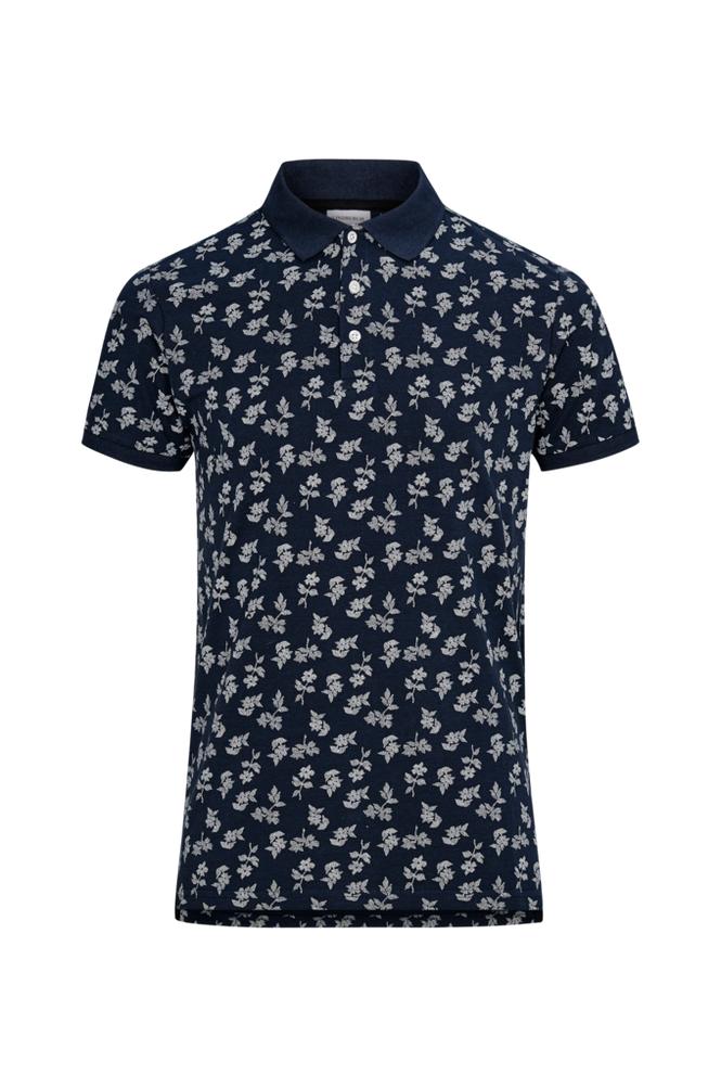 lindbergh Printed Polo Shirt S/S -T-paita
