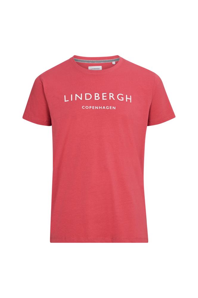lindbergh T-paita, jossa painatus edessä