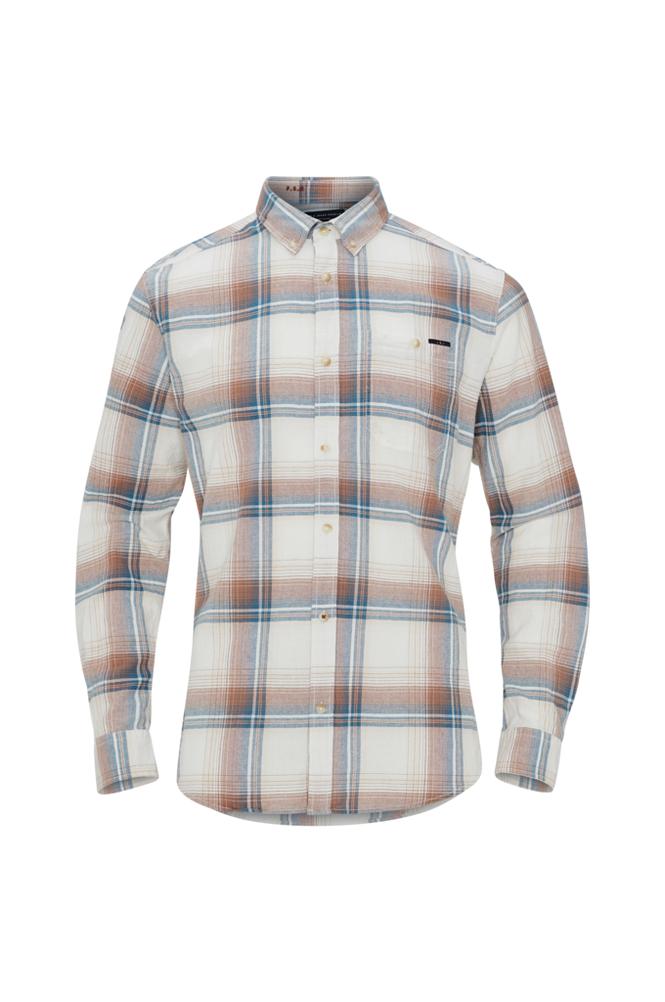 jack & jones JprOregon Check Shirt L/S One Pocket -kauluspaita