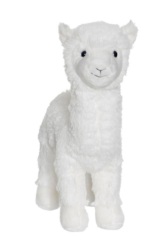 Teddykompaniet Laama, valkoinen
