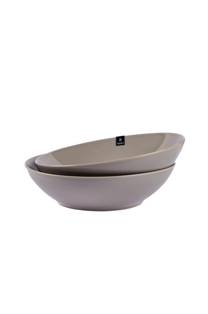 Himla With Pleasure -lautaset 21 cm, syvät, 2/pakk.