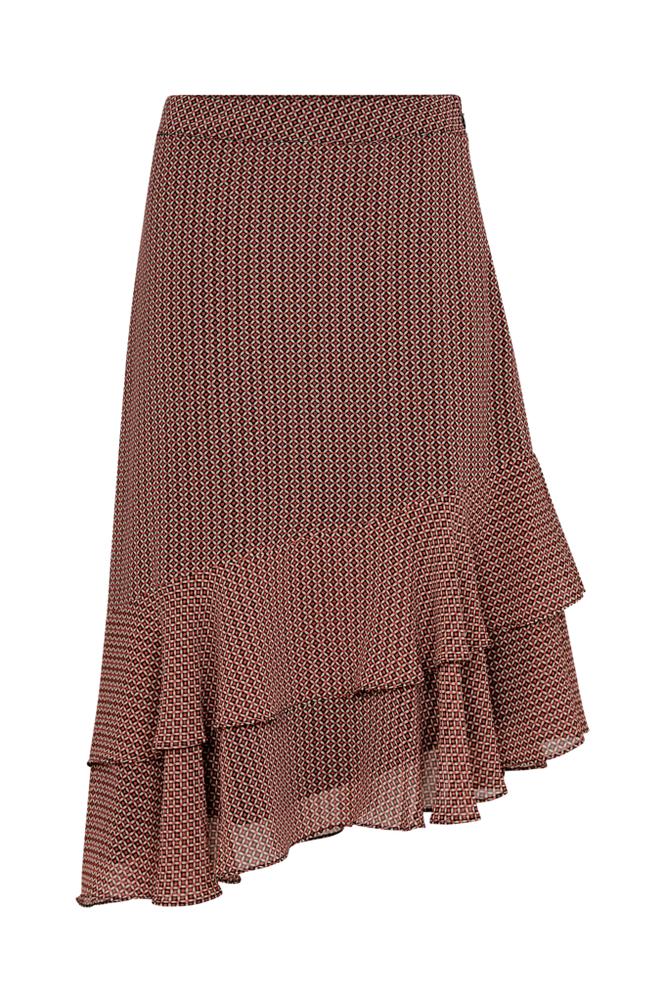 Second Female Leen Skirt -röyhelöhame