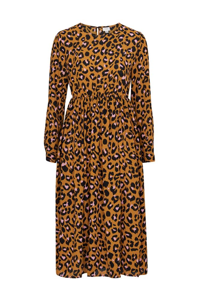 Jacqueline de Yong JdyBase Milo L/S Midi Dress -mekko