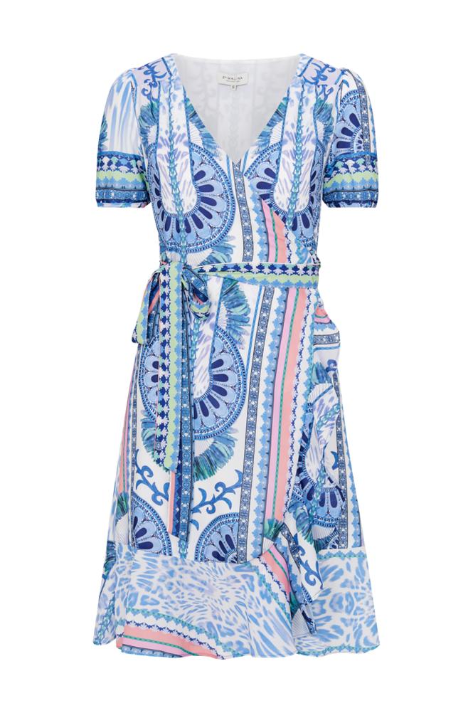 By Malina Alba Mini Dress -kietaisumekko