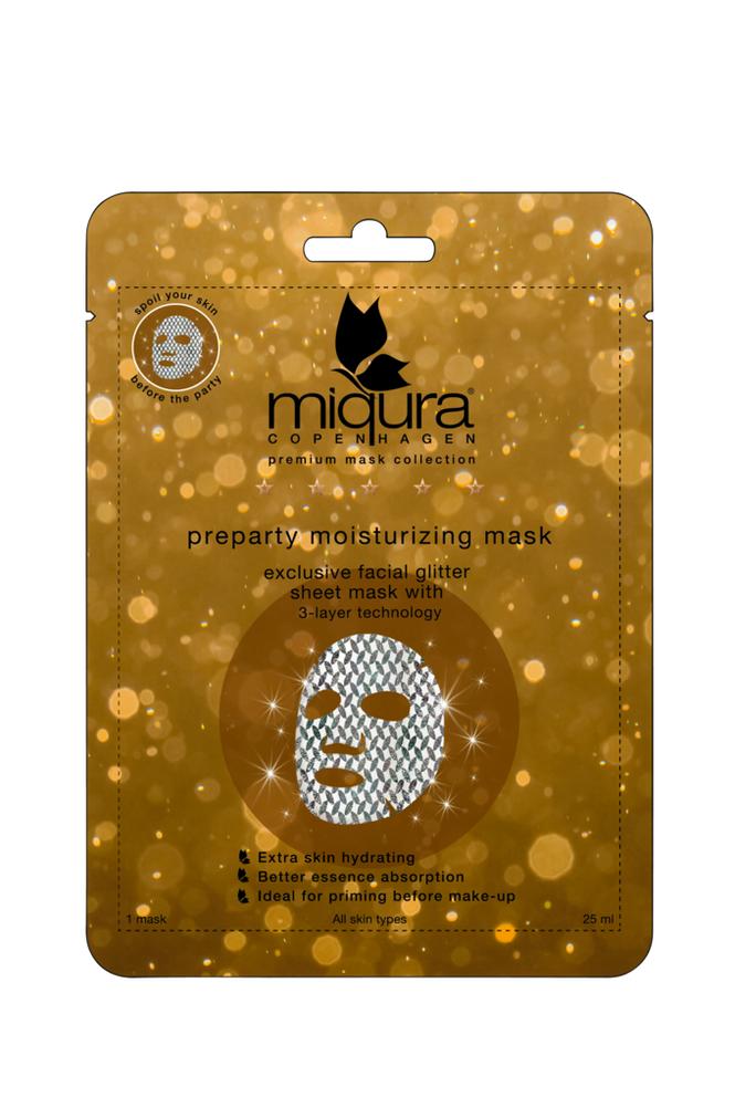 miqura Pre-party Glitter Mask