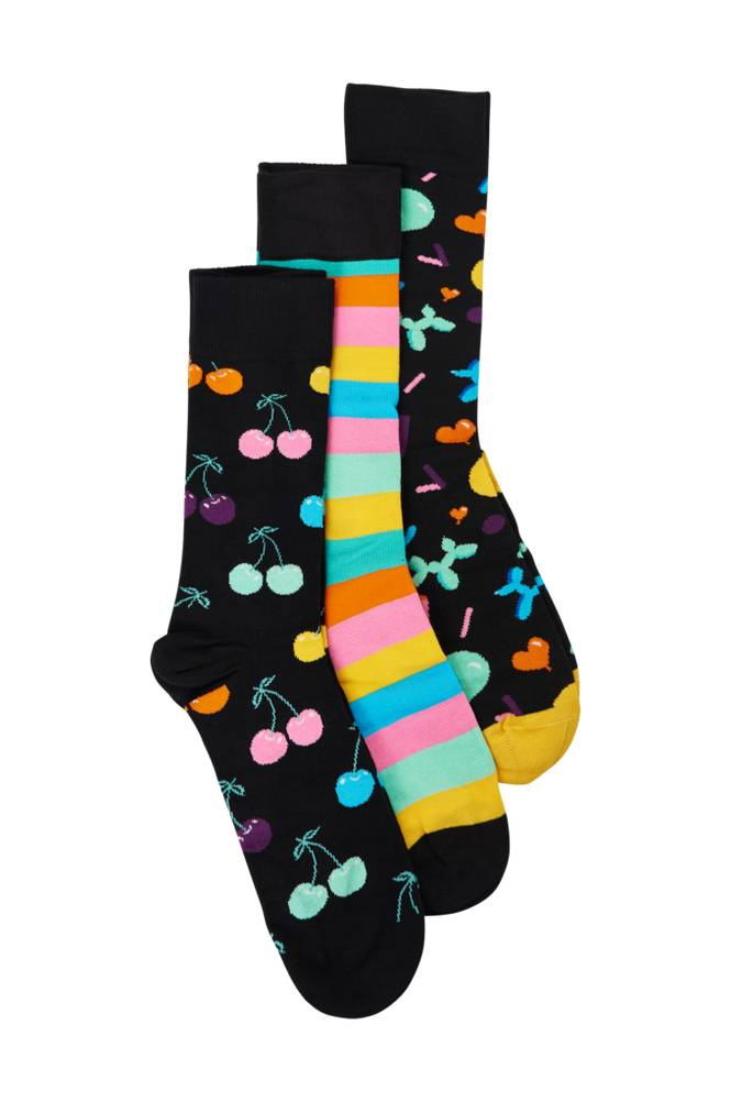 Happy Socks Lahjapakkaus Dot Gift Box, 4 paria sukkia