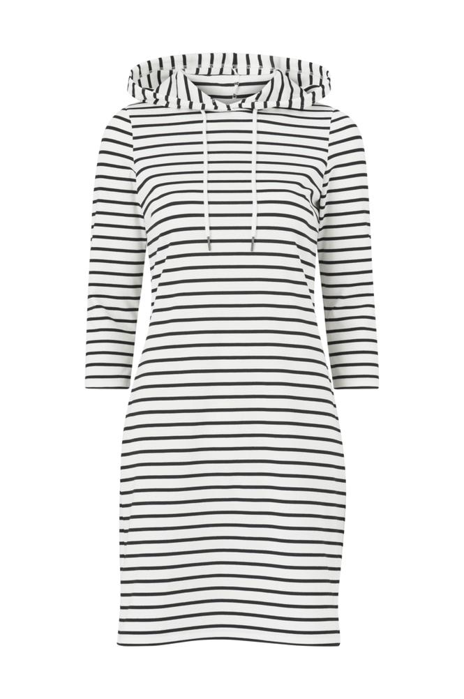Image of Vila Mekko viTinny 3/4 Sleeve Hoodie Dress