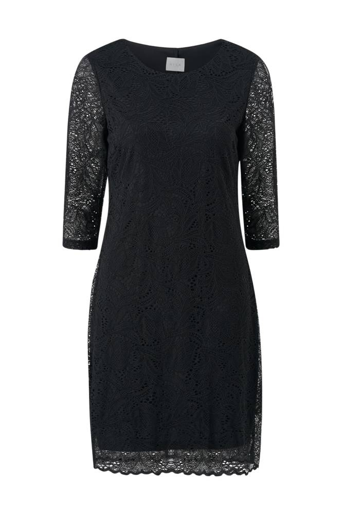 Image of Vila Pitsimekko viBlond 3/4 Sleeve Dress