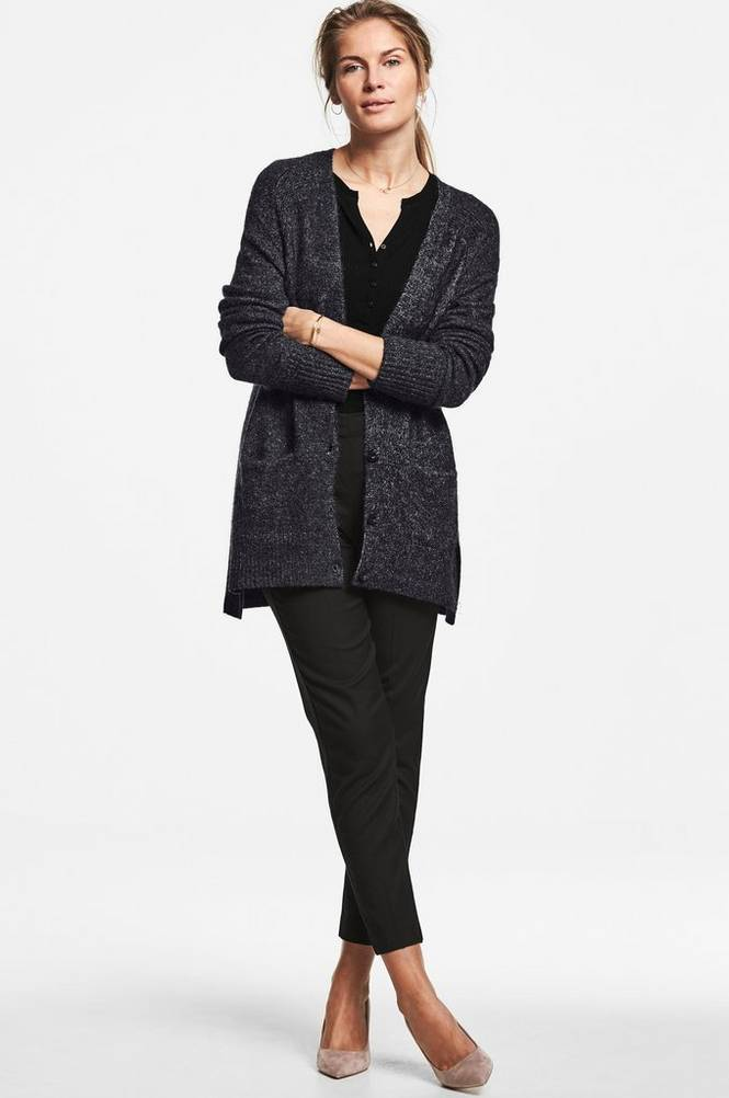 MORE THAN BASIC The slouchy cardi neuletakki