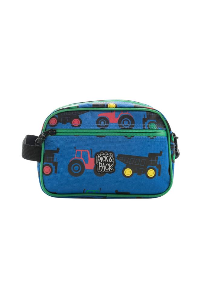 Pick & Pack Toiletcase tractor blue