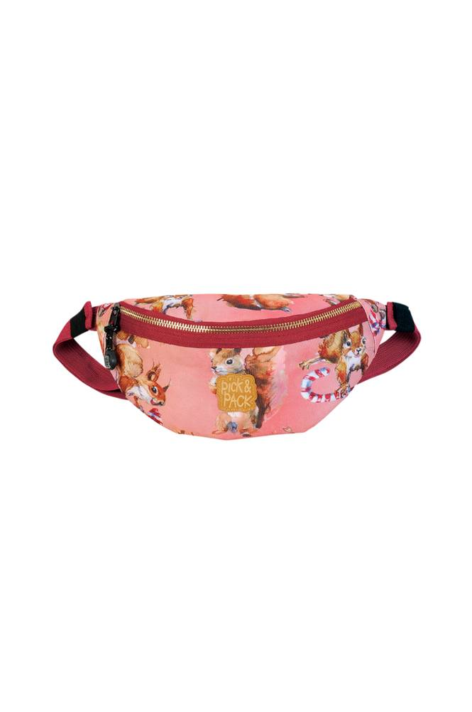 Pick & Pack Waistbag squirrel rose