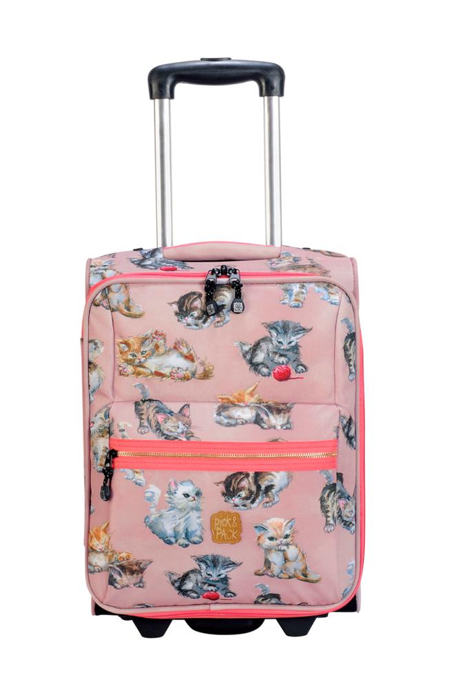 Pick & Pack Trolley kittens rose