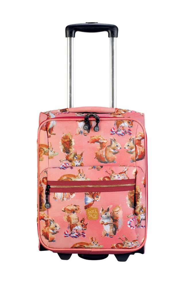 Pick & Pack Trolley squirrel rose