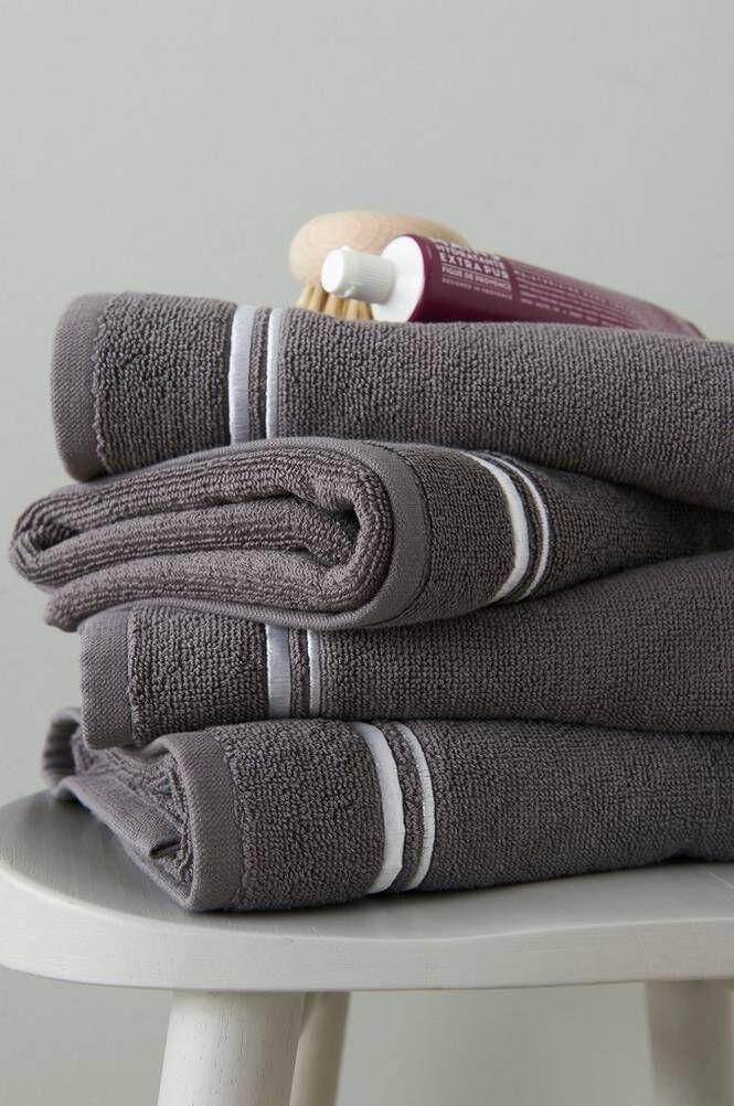 Ellos Charlie pyyhkeet, 4/pakk. 50x70 cm