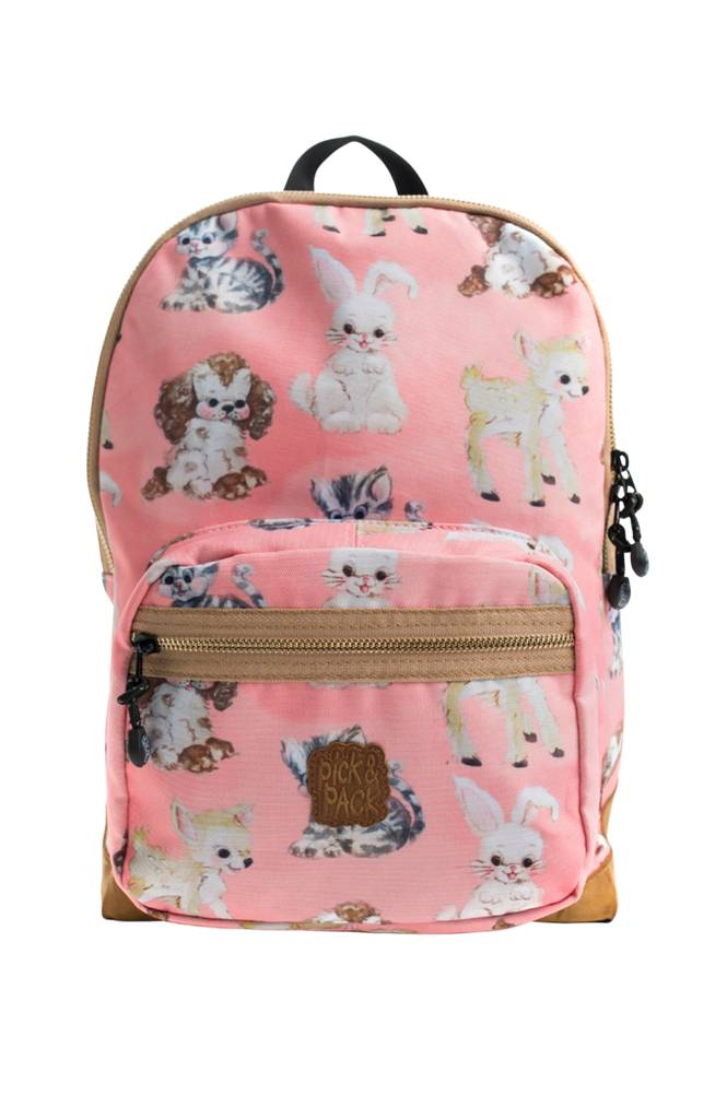 Pick & Pack Backpack cute animals pink