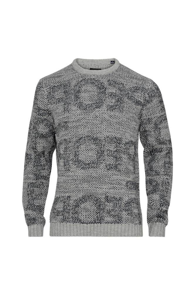 ONLY & SONS onsPal 7 Text Knit -pusero