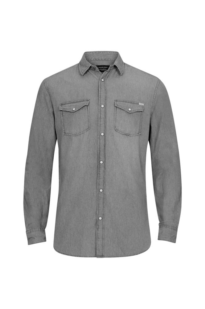 jack & jones jjeSheridan Shirt L/S Slim -farkkupaita