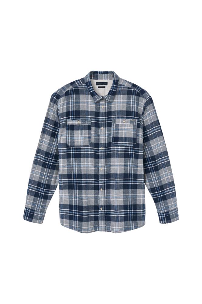 jack & jones JprHarry Flannel Shirt L/S Worker PS -kauluspaita