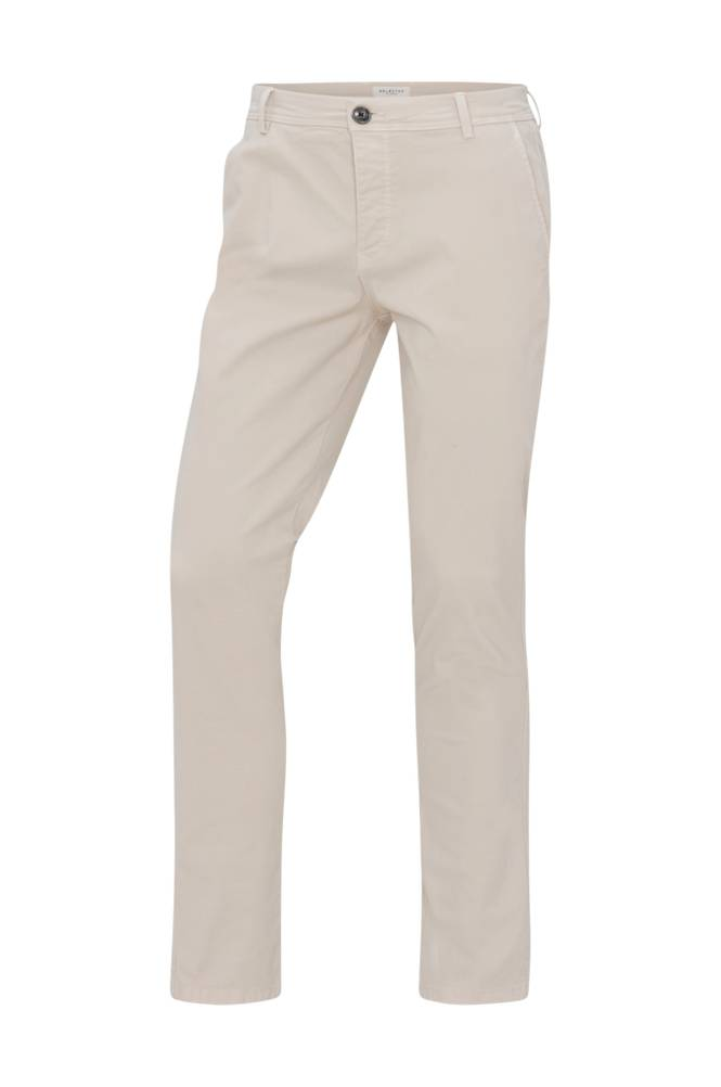 Selected Homme SlhSkinny-Luca Silver Lin -chinot. Pants W