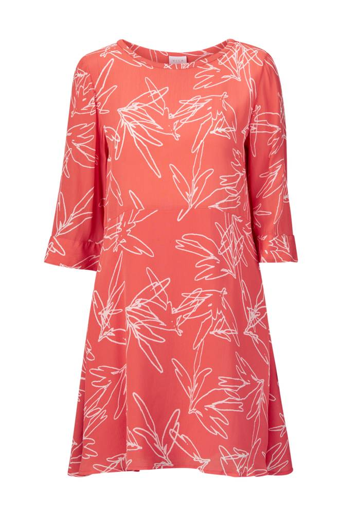 Image of Vila ViMimira 3/4 Sleeve Short Dress mekko