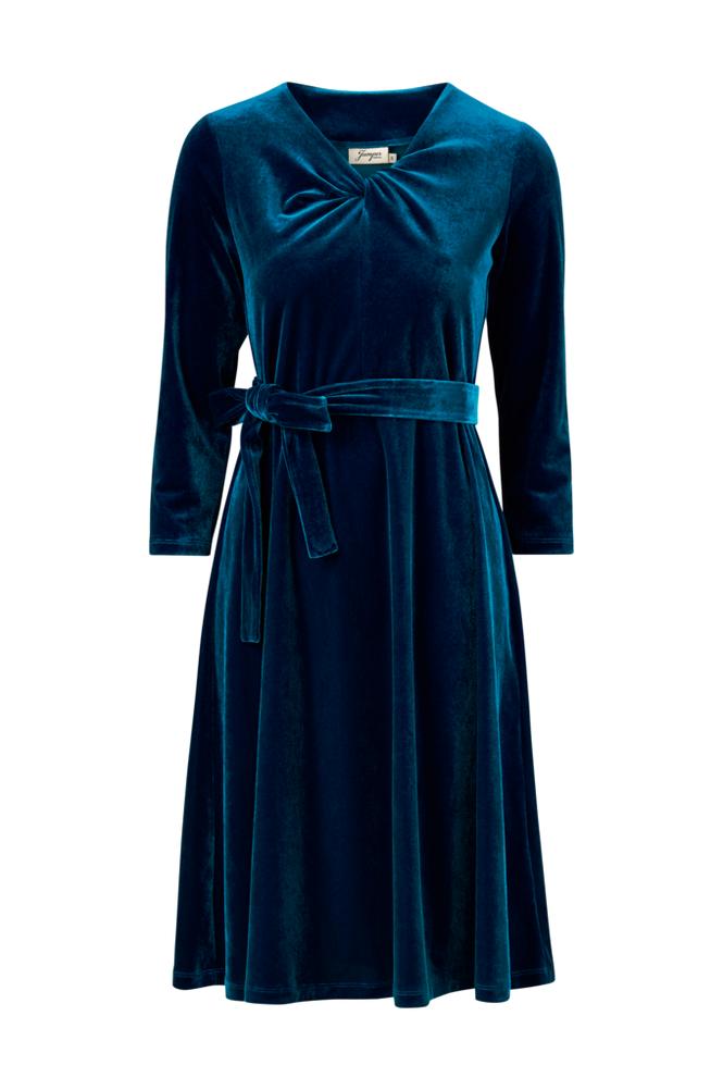 Jumperfabriken Isan Velvet Dress -mekko