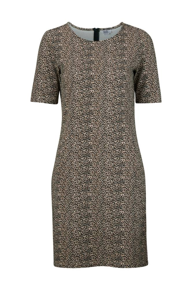 Saint Tropez Leopard Print Dress -mekko
