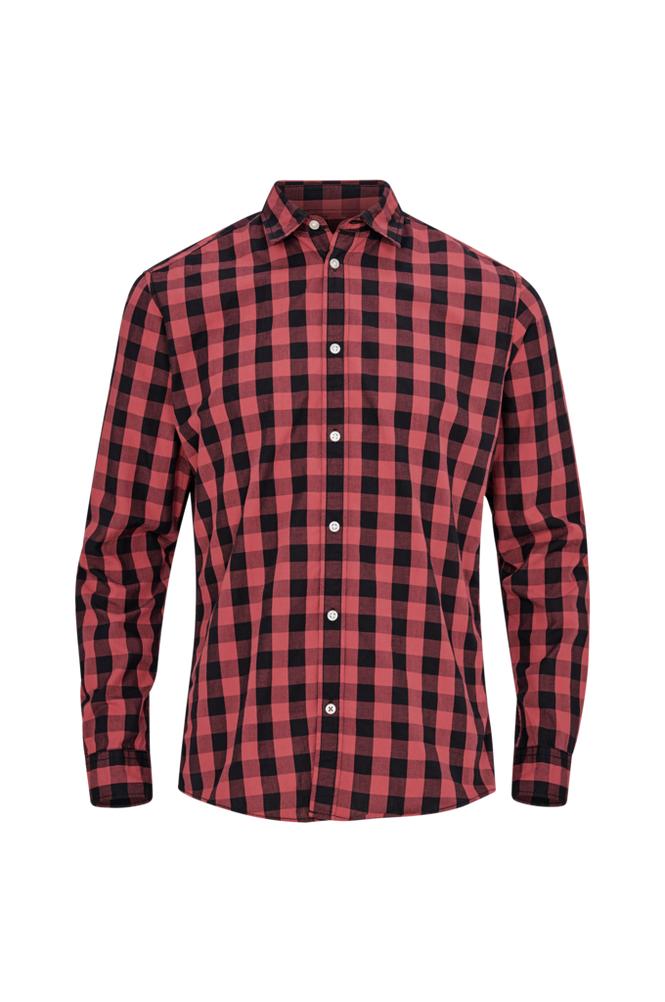 jack & jones JjeGingham Shirt L/S -kauluspaita