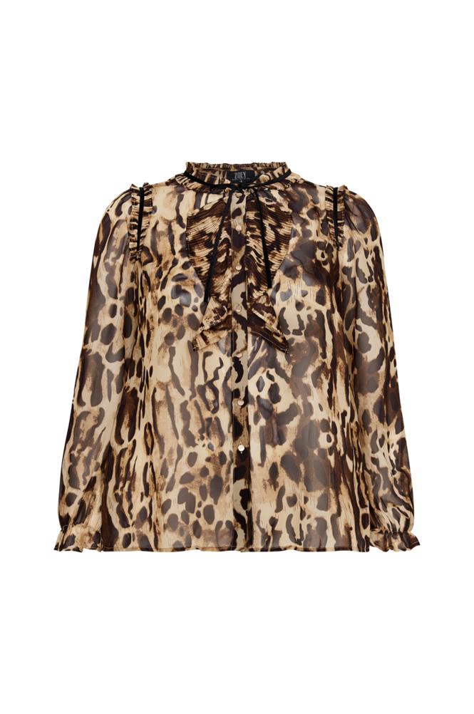 Zoey Leonoa-paita, leopardikuvio