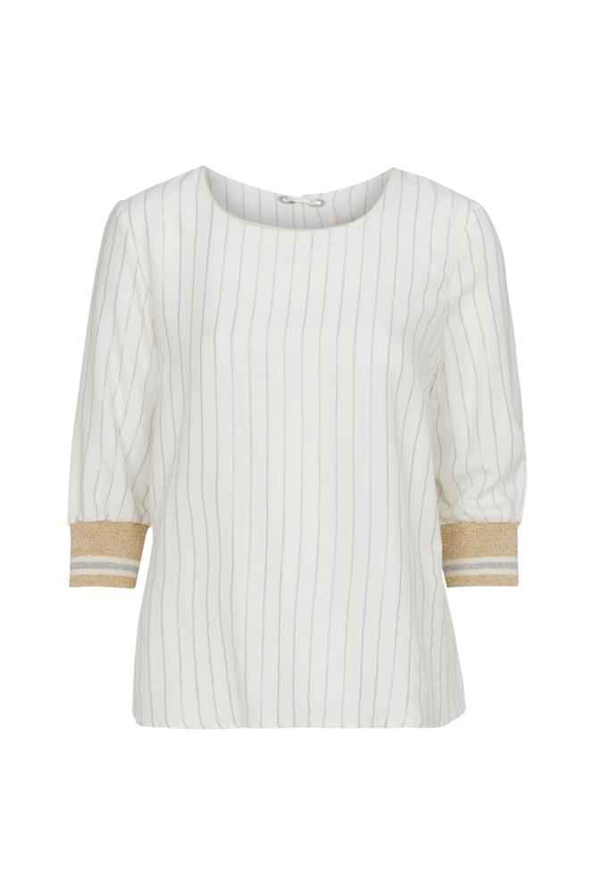 Image of Cream Alejandra Blouse paita
