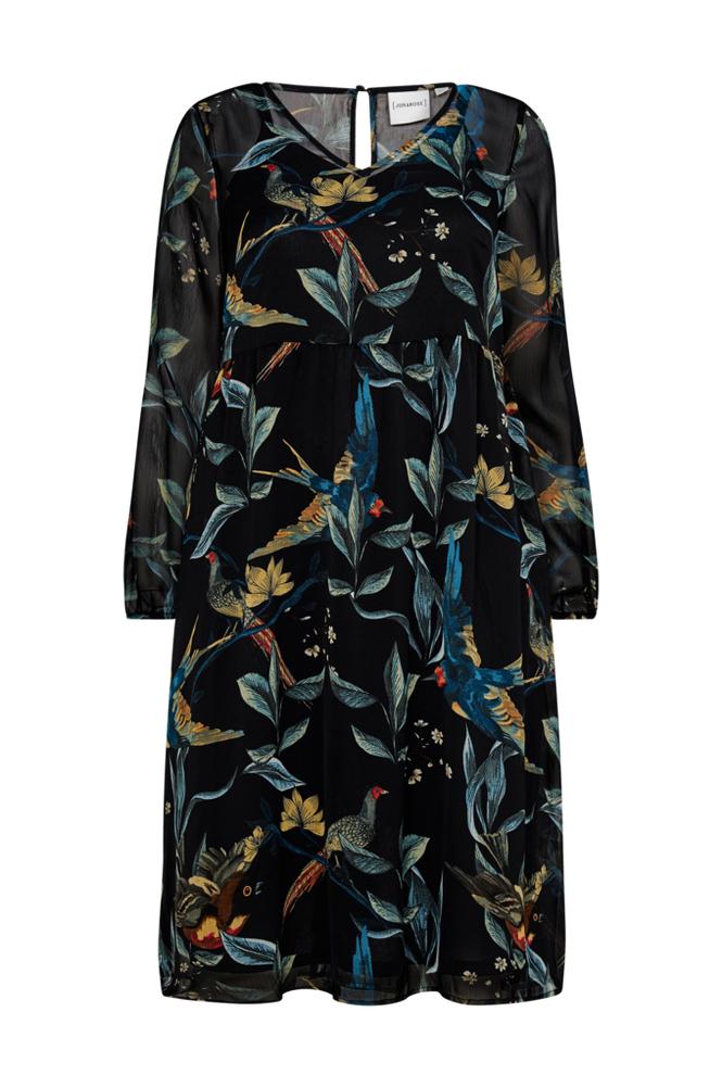 Junarose JrRevea LS Midi Dress mekko