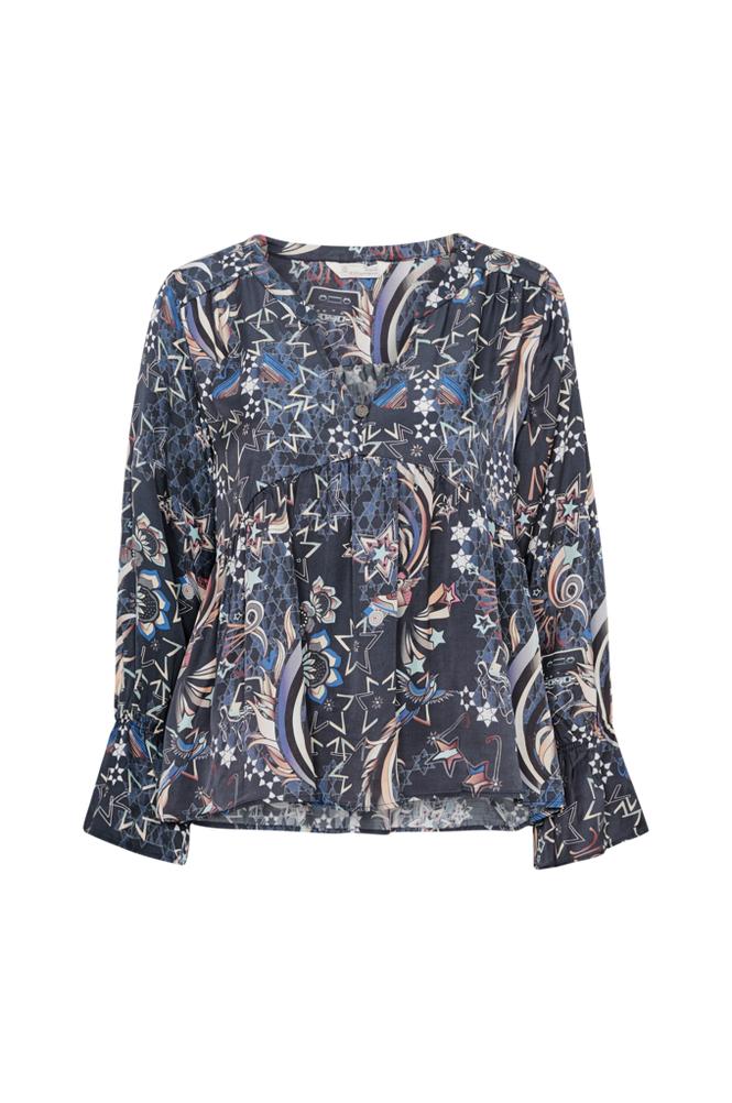Image of Odd Molly Neon Garden Blouse paita