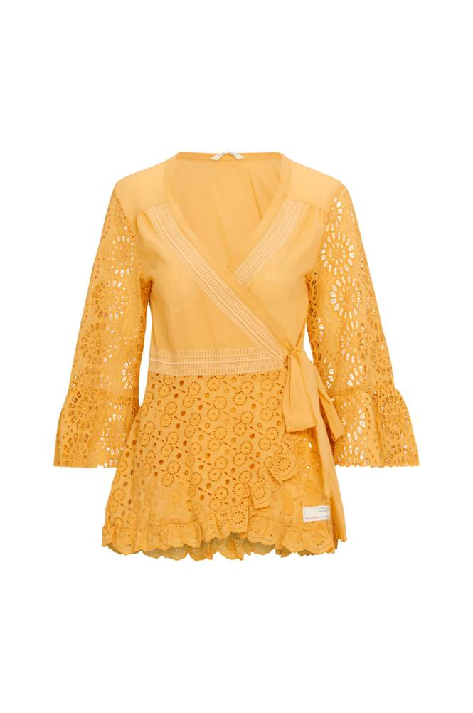 Image of Odd Molly Paita Two Step Flow Blouse