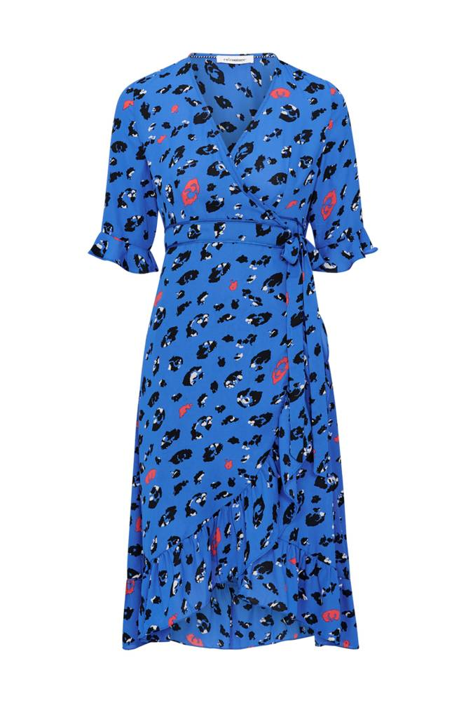 co'couture Wild Animal Wrap Dress -kietaisumekko
