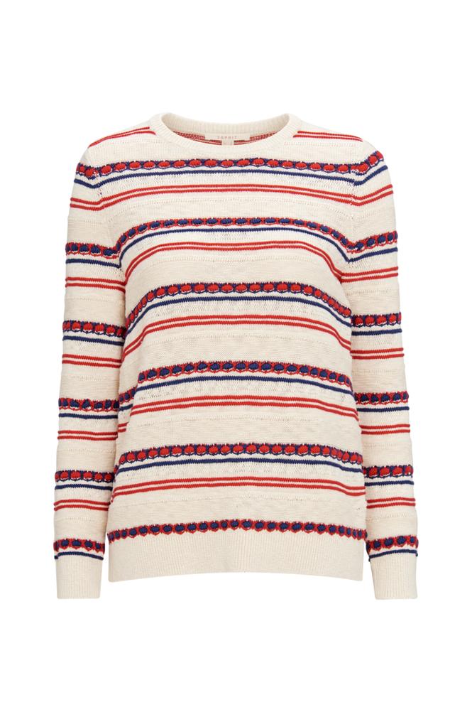 Image of Esprit Neulepusero Mixstruct Sweater