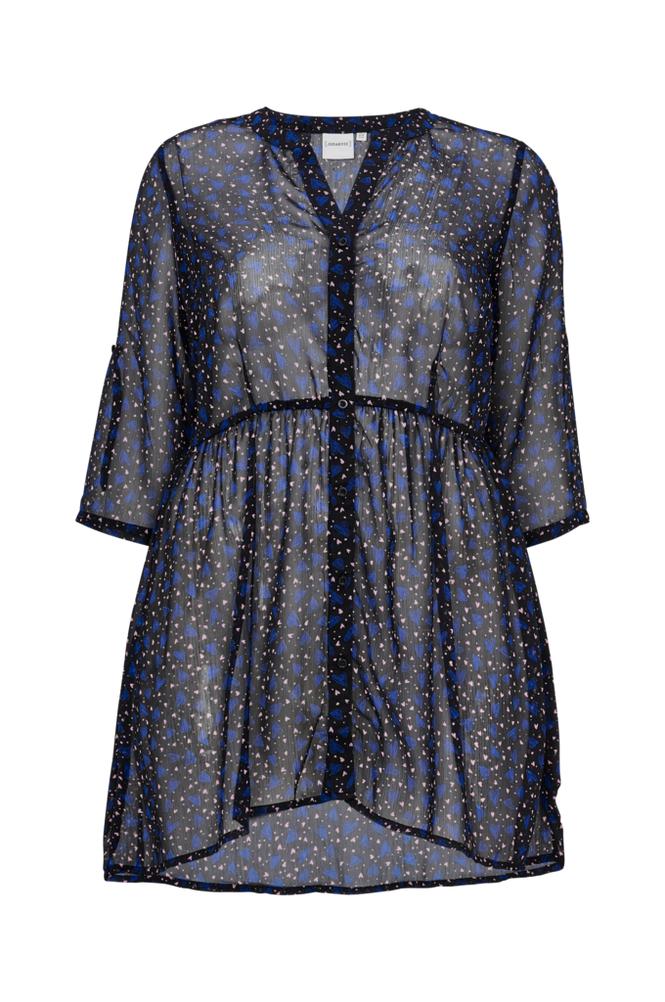 Junarose JrMakaz Revea 3/4 Sl Long Shirt tunika