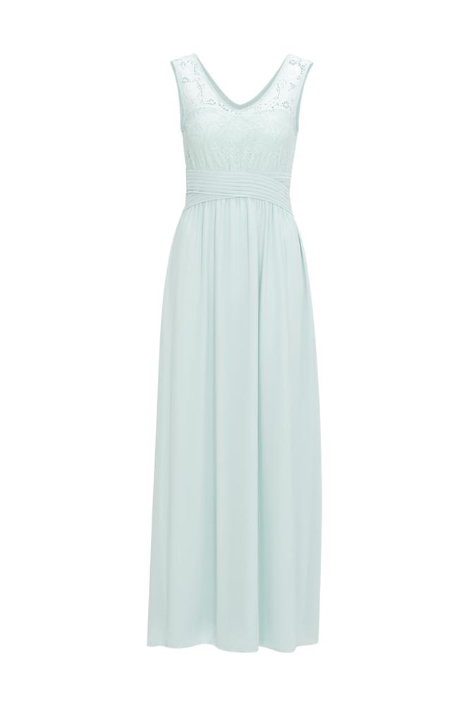 Image of Vila Maksimekko viTalima S/L Maxi Dress