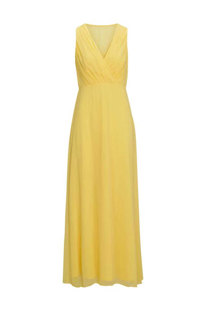 Image of Vila Maksimekko viAlli S/L Maxi Dress