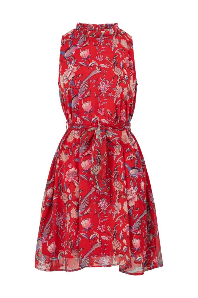 Image of Y.A.S Mekko Soria Chiffon Halter Dress