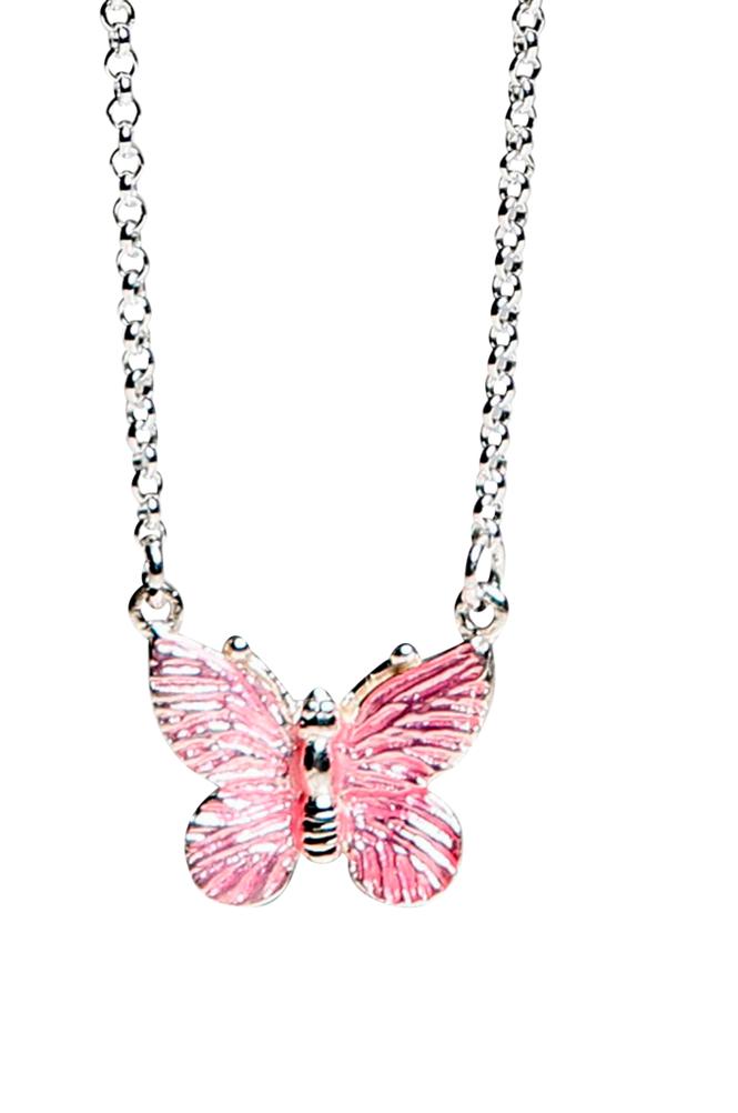 Kalas Kaulakoru, vaaleanpunainen perhonen