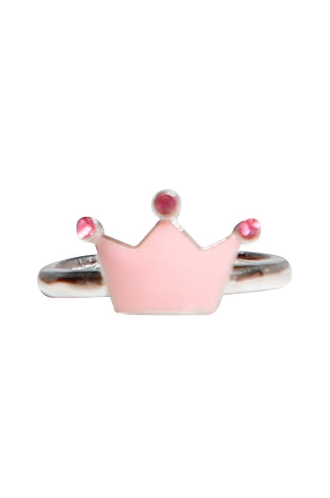 Kalas Vaaleanpunainen prinsessakruunusormus