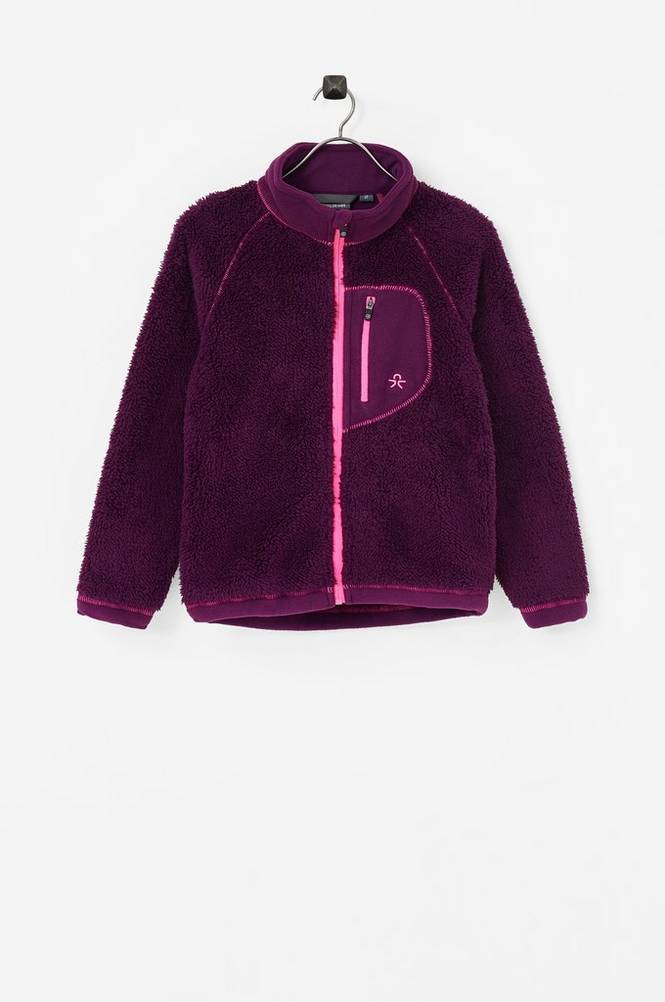 color kids Burma Pile Jacket -fleecetakki