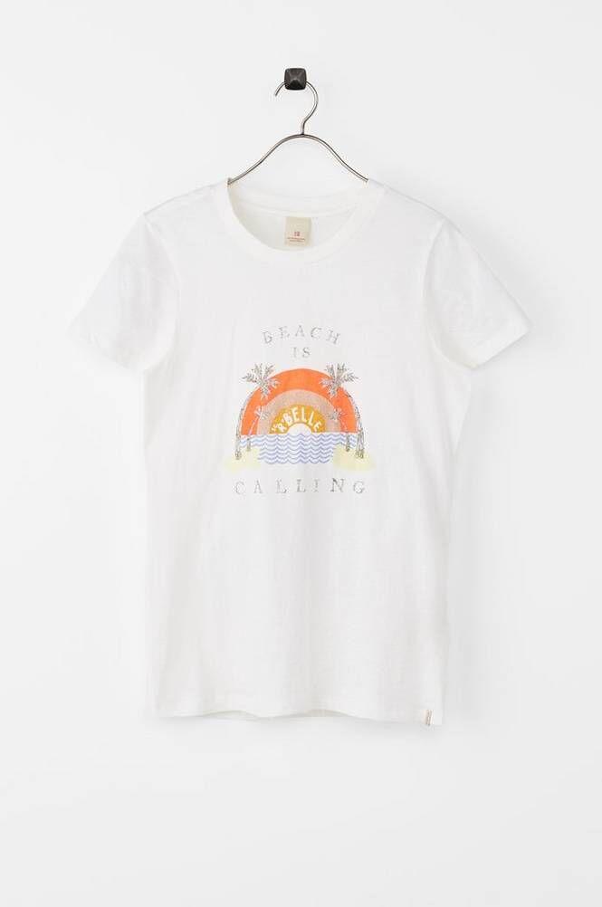 Scotch & R'belle T-paita, jossa vintagepainatus.