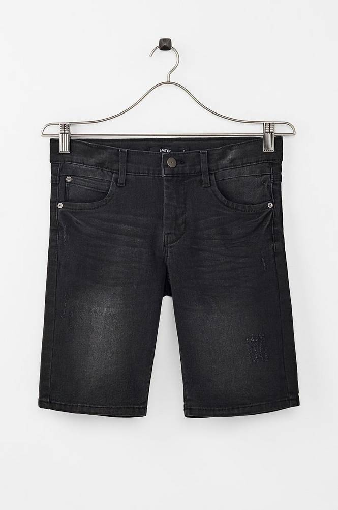 LMTD NlmShaun dnmTacam 6006 Long Shorts -farkkushortsit