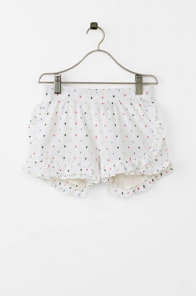 Creamie Cotton Dot -shortsit