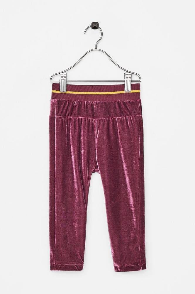 Small Rags Hella Pants -samettihousut