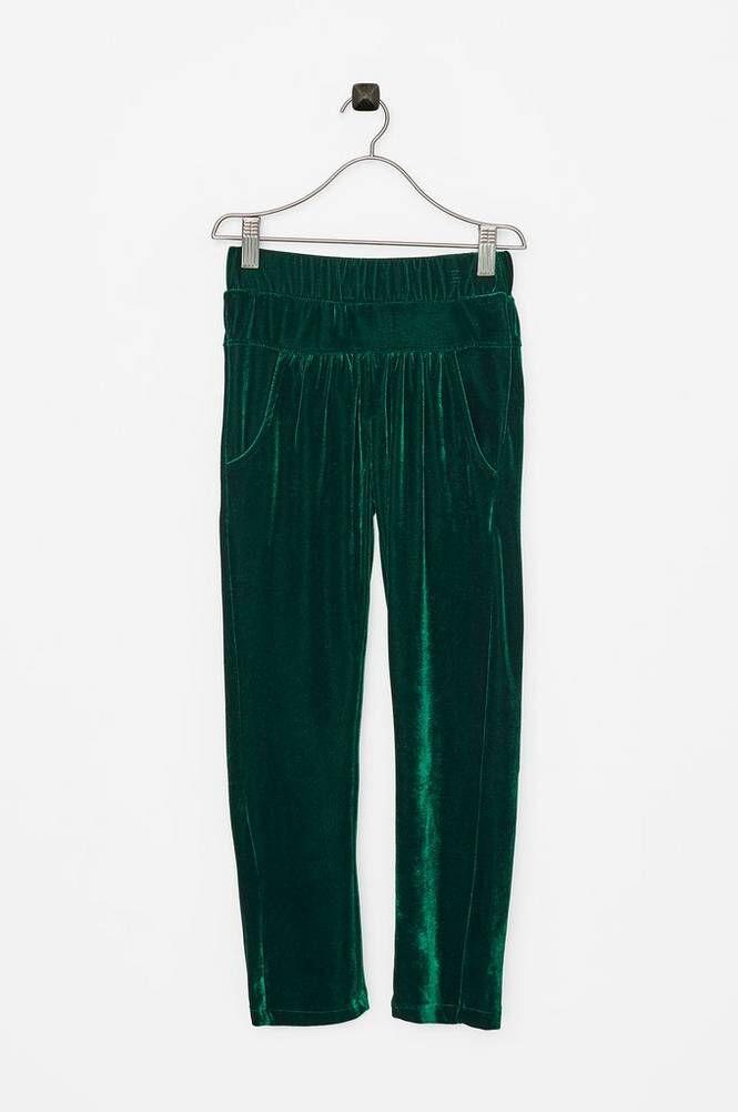 Small Rags Hanna Pants -samettihousut