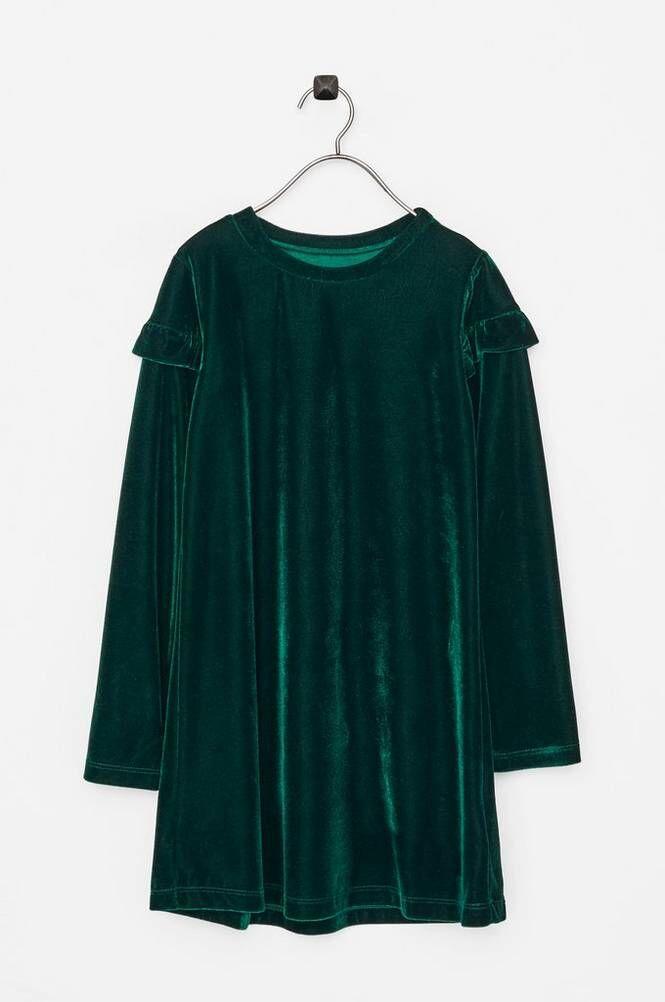 Small Rags Hanna LS Dress -samettimekko