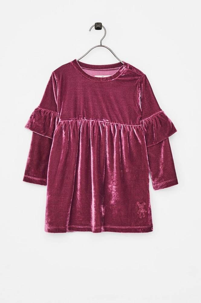 Small Rags Hella Dress -samettimekko