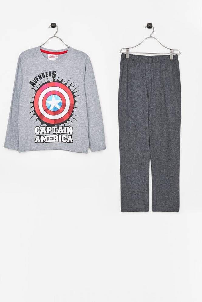 marvel avengers LS Pyjama Avengers -pyjama, 2 osaa