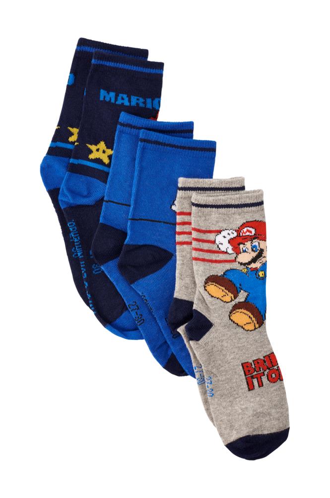 Nintendo Super Mario -sukat, 3 paria